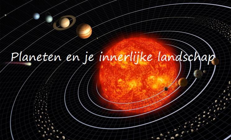 Planeten en je innerlijke landschap